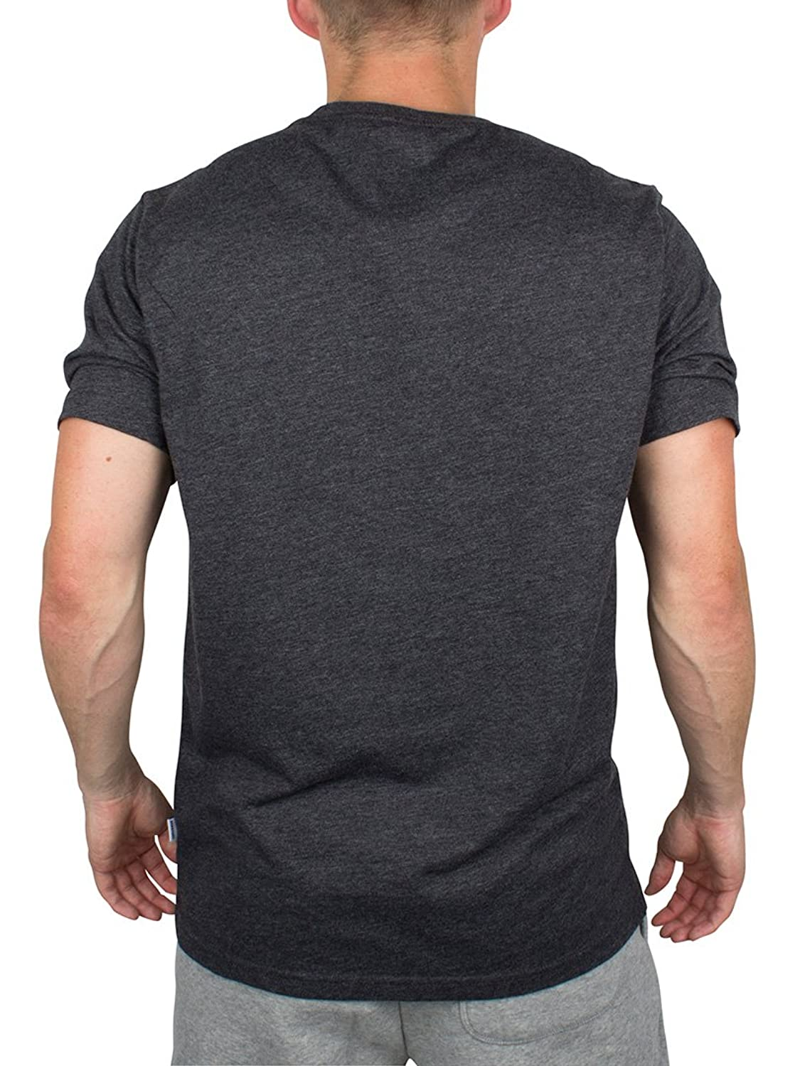 Converse Pocket Patch T-Shirt Black Heather