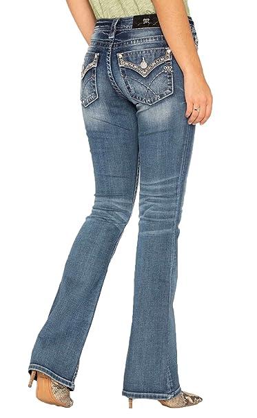 Amazon.com: Miss Me – Pantalones vaqueros para mujer ...