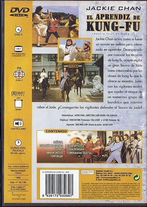 El aprendiz de Kung-Fu. Jackie Chan. DVD: Amazon.es: Cine y ...