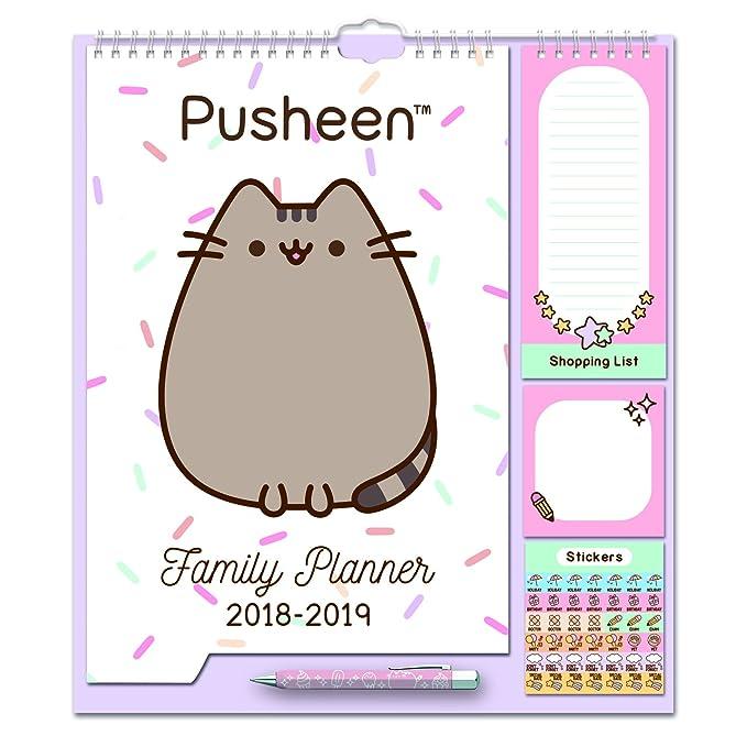 15 opinioni per Grupo Erik Editores CPF1806 Calendario da Muro Familiare Pusheen the Cat family