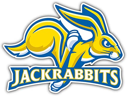 South Dakota State Jackrabbits NCAA Decal Sticker Truck Window Bumper Laptop