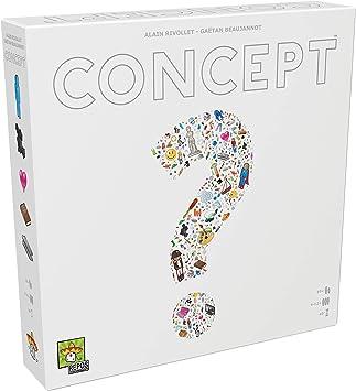 Repos Production-Concept – ¡Adivina Cientos de Objetos, Personajes y títulos al Combinar Iconos universales-Juego de Mesa en Español, Color Blanco (CON01ES): Amazon.es: Juguetes y juegos