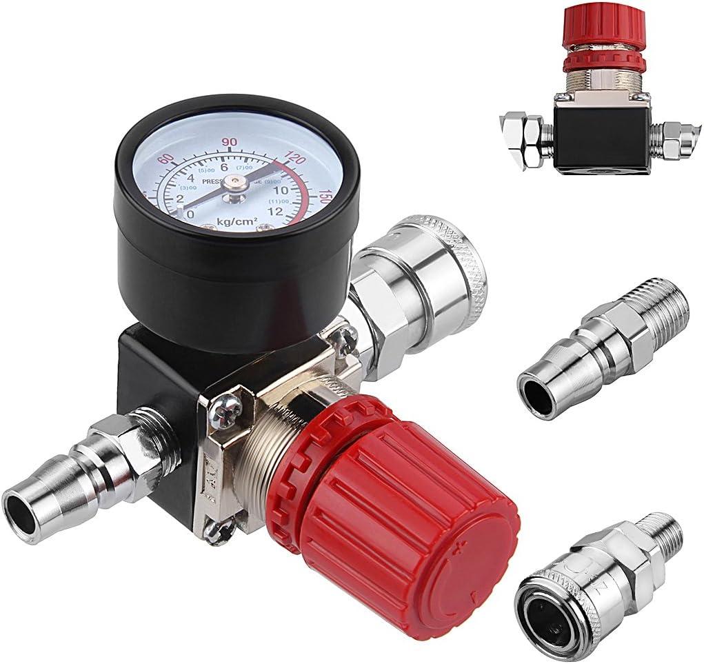 Alta qualit/à 120-150 PSI Valvola di controllo della pressione del compressore daria Interruttore di pressione per impieghi gravosi per sistema di sospensione di automobili