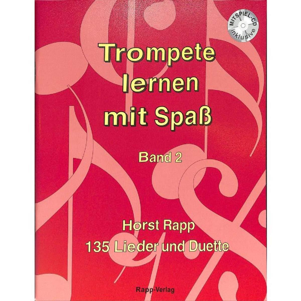 Trompette apprendre avec Plaisir/ /Mat/ériel p/&eacu EUPHONIUM dans le Cl/é de Sol/ /135/chansons et DUETTE pour d/ébutant/ /Convient /également pour saxhorn t/énor Baryton