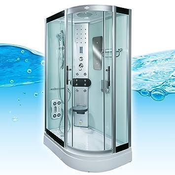 Duschkabine komplett  AcquaVapore DTP8060-7000R Dusche Duschtempel Komplett Duschkabine ...