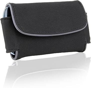 Gafas de sol funda de transporte protectora con Executive estilo y enganche para el cinturón Clip