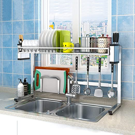 WY Ajustable tendedero lavavajillas, Fregadero de Acero Inoxidable ...