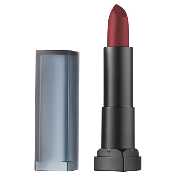 Maybelline New York Color Sensational Red Lipstick Powder Matte Lipstick Cruel Ruby 0 15 Ounce Pack Of 1 Beauty