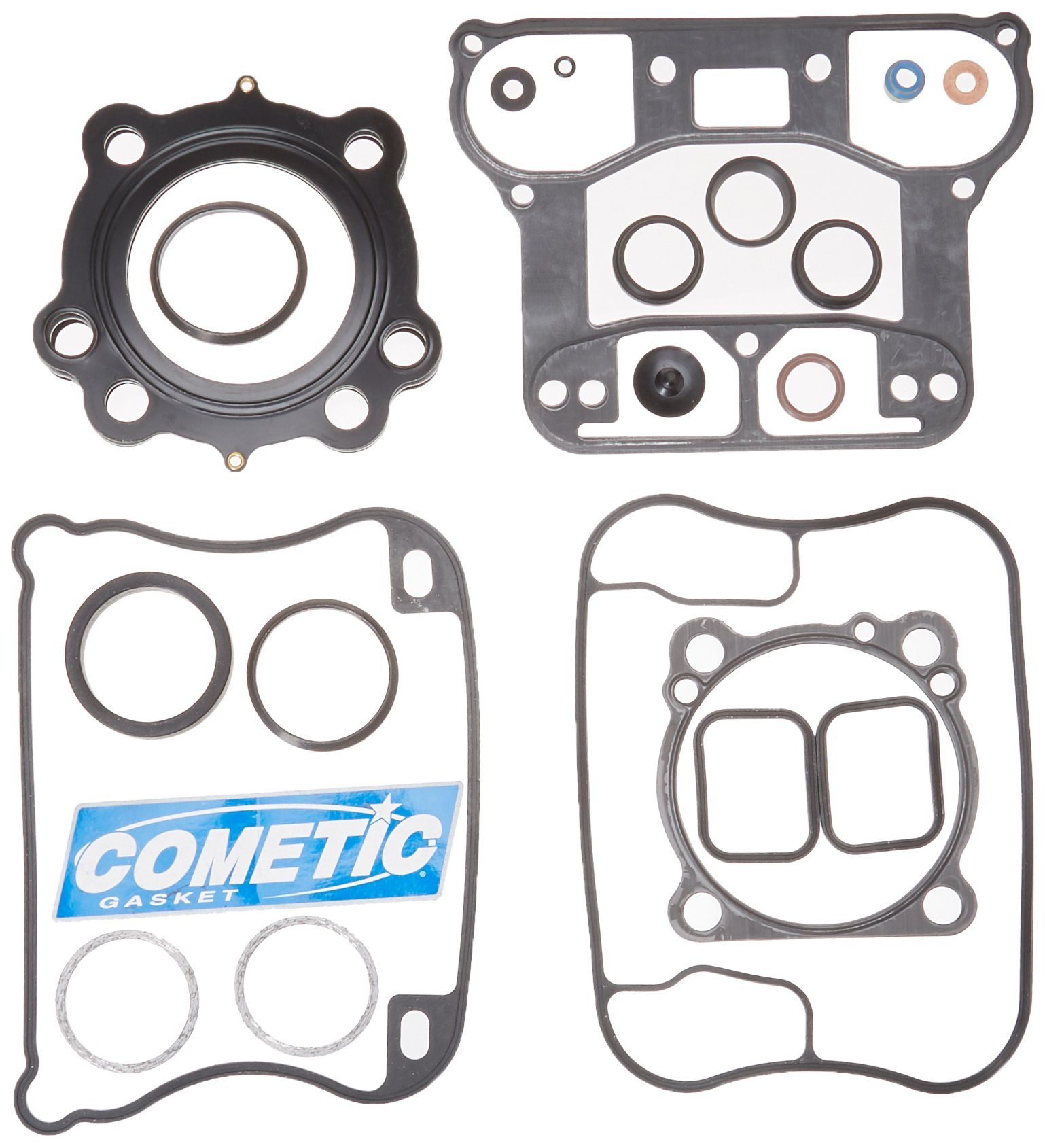 Cometic C9760 Top End Gasket Kit/Clutch Cover Gasket by Cometic Gasket (Image #1)