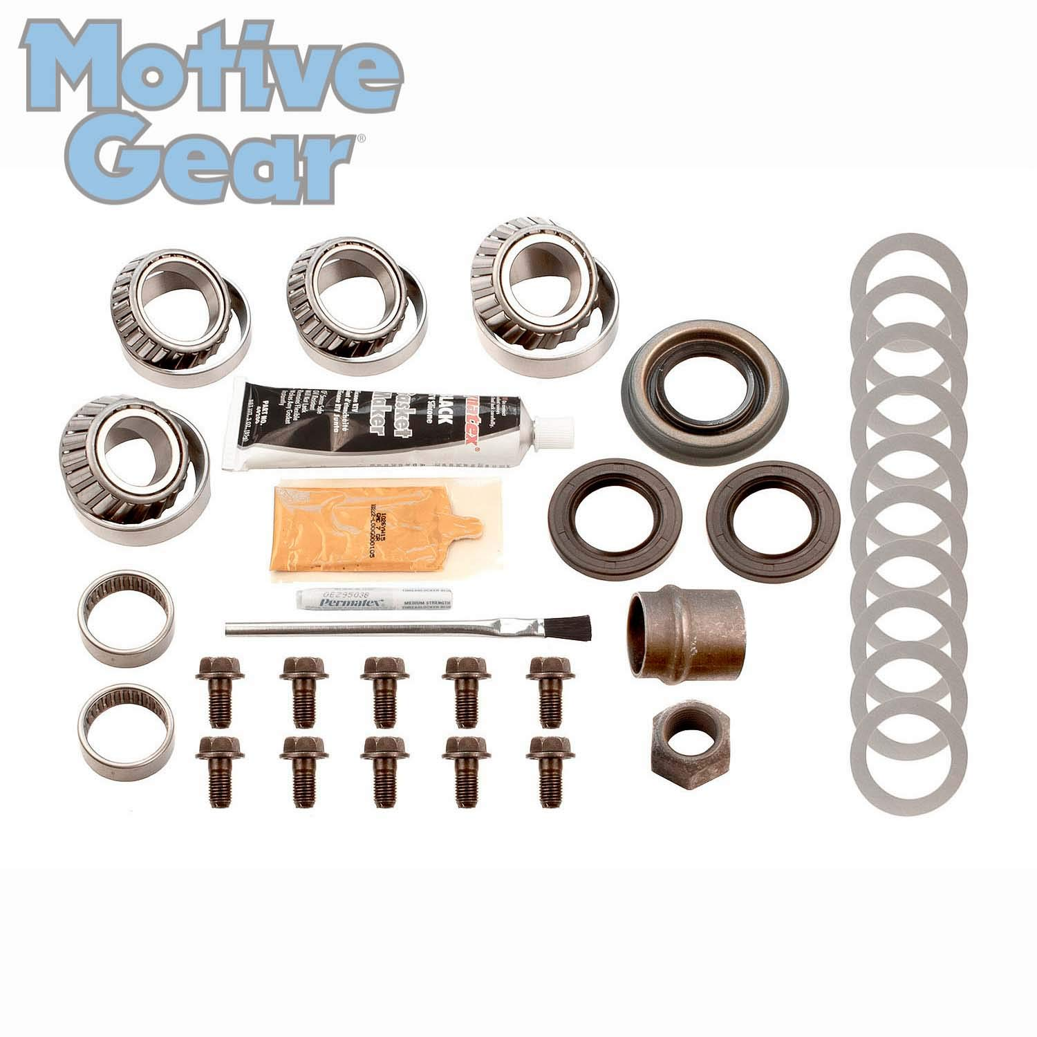 """3.91 Ratio Performance Ring and Pinion Differential Set C887391E Housing 43-11 Teeth Motive Gear 742 Chrysler 8.75/"""" Early"""