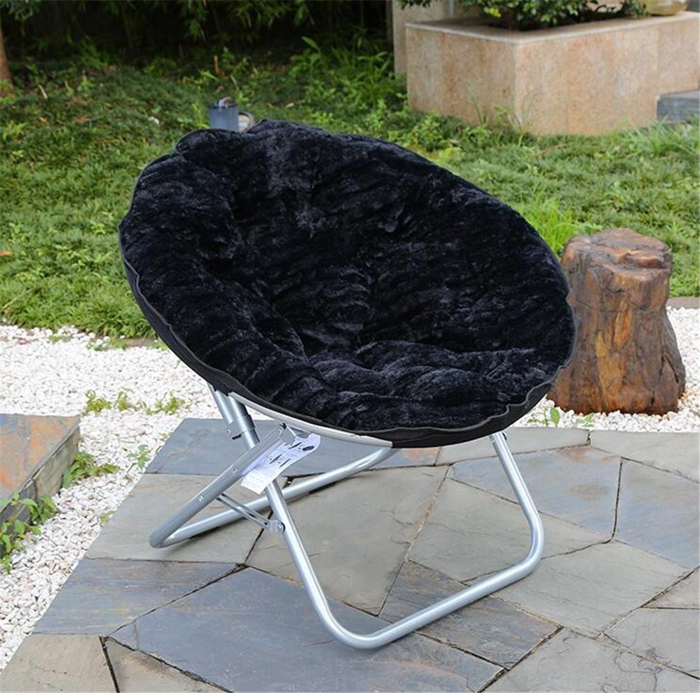 TTYY Mond Stuhl 4PCS Zusammenklappbar Innen / Außen Bequem (bitte hinterlassen Sie eine Nachricht, wenn Sie eine andere Farbe benötigen)