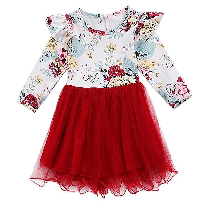Amazon.com: SBV Beauty Vestido de princesa de encaje de ...