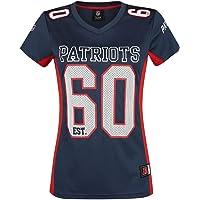 NFL New England Patriots Camiseta Mujer Azul Marino