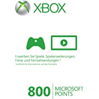 Xbox 360 - Live Points Card 800 [Importación alemana]