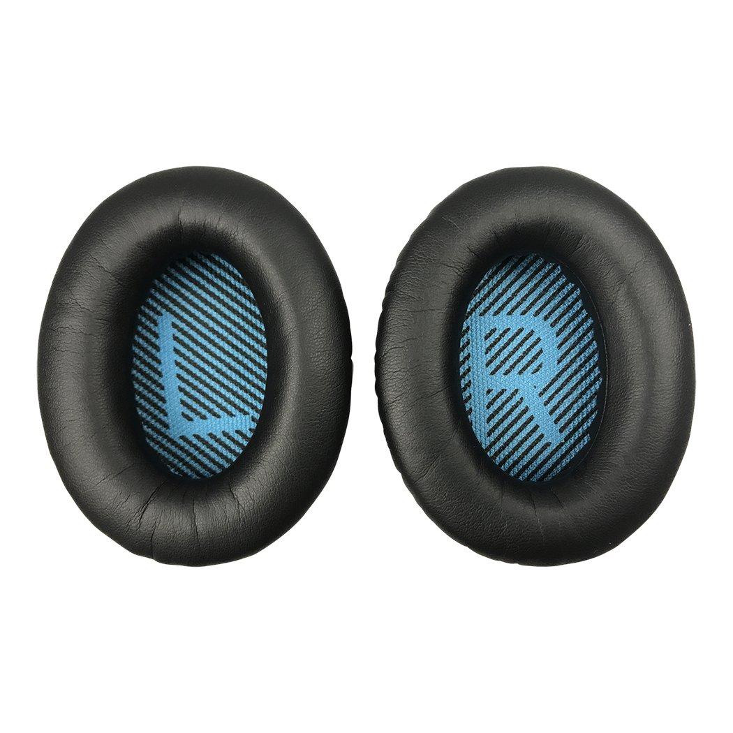 1Pair Headphone Earpads Ear Pads Protein Skin Earbud for Bose QC15 QC2 QC25 QC35