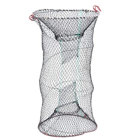 Lobster Prawn and Crab Trap Sturdy Foldable Steel Wire Fish