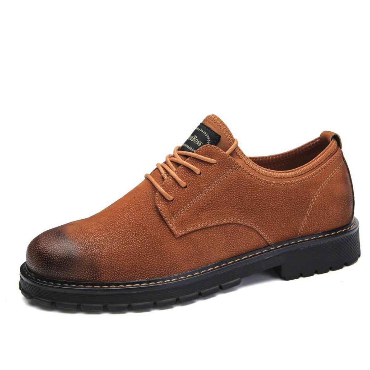 GTYMFH Herbst Koreanische Version Herrenschuhe Große Schuhe Freizeitschuhe Wild Schuhe England Schuhe
