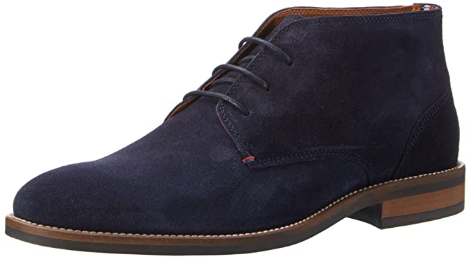 a66faeb42 Tommy Hilfiger Daytona 2b Essential Mens Ankle Boots Midnight Navy - 45 EU