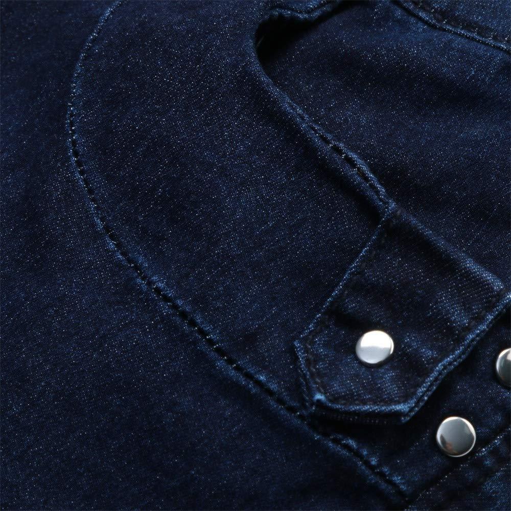Jeans Vita Alta,MEIBax Jeans Casual Pantaloni con Pulsante,Pantaloni Elasticizzati Eleganti Fitness Taglie Forti Donna Autunno Pantaloni Invernali Jeans Slim Fit Pantaloni Donna Invernali Eleganti