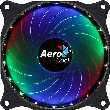 Aerocool Cosmo - Ventilador 12 cm conector Molex, Iluminación LED ...