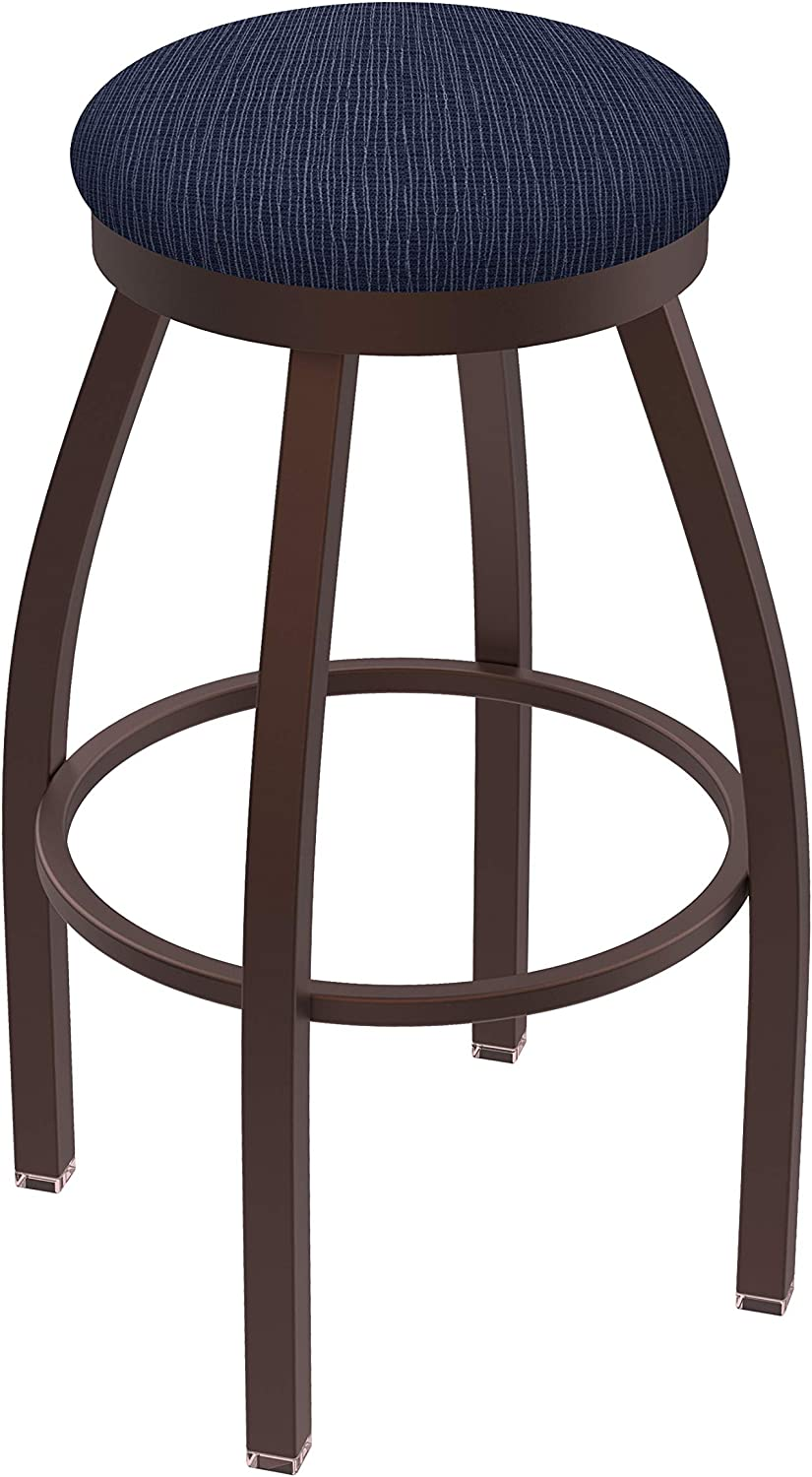 Holland Bar Stool Co. 80225BZAxsDnm 802 Misha Counter Stool, 25 Seat Height, Graph Anchor