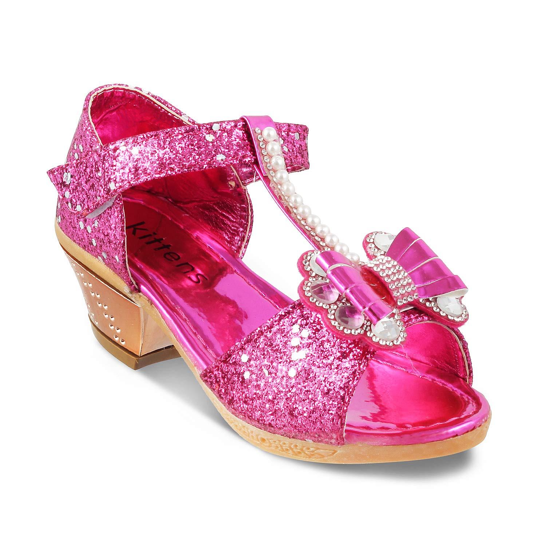 KITTENS Girls Fuchsia Sandals at Amazon