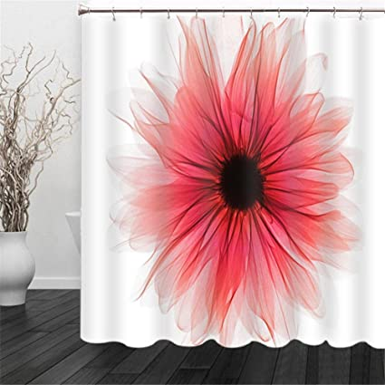 Image Unavailable Not Available For Color Dbtxwd Shower Curtain 3D Purple Red