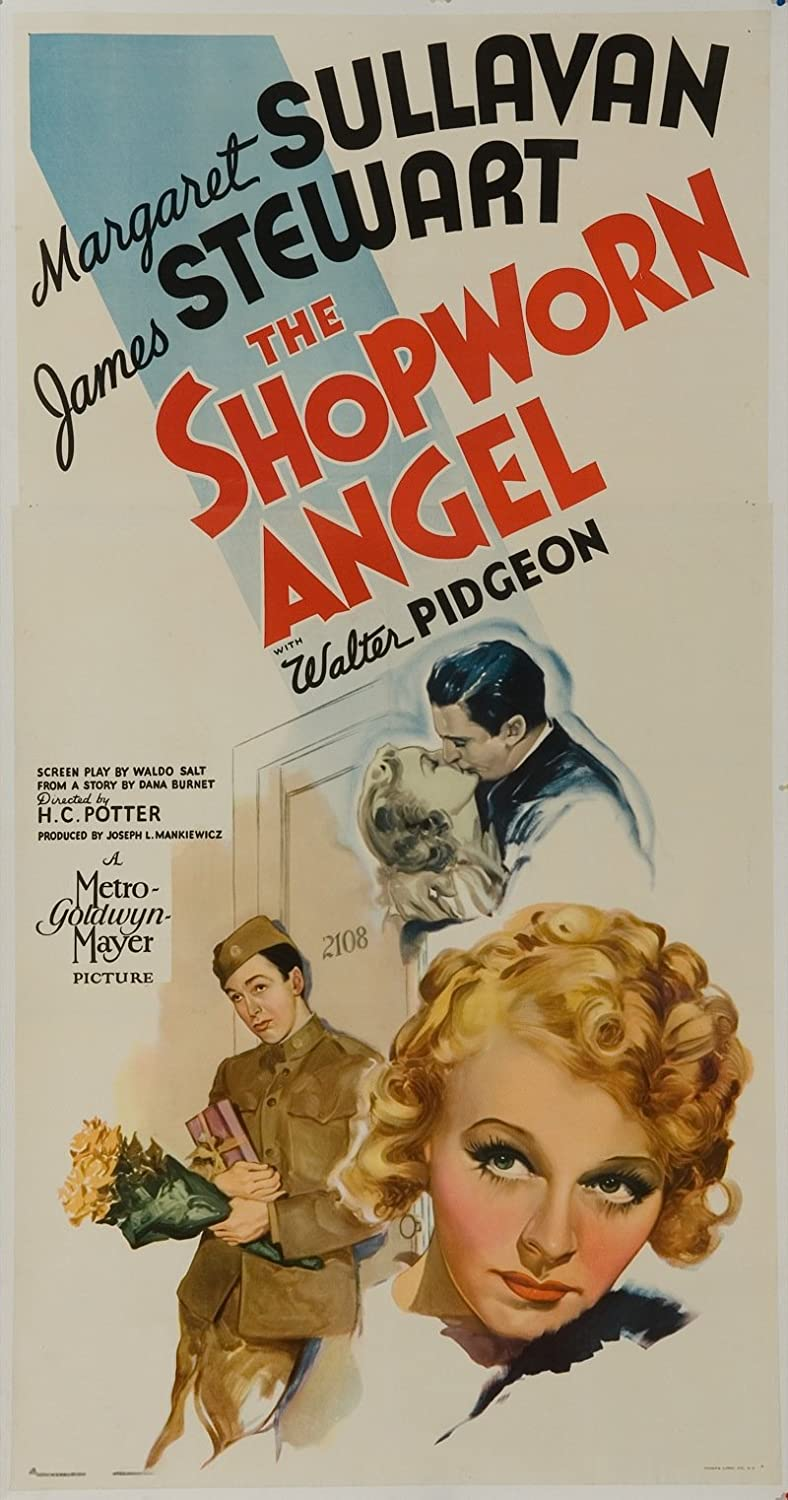 The Shopworn Angel (1938) Original U.S. Three-Sheet Movie Poster ...