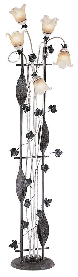 OK Lighting Flower Floor Lamp