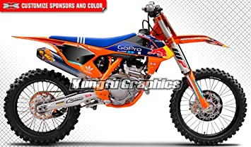 2018 ktm sxf 450. Plain Sxf Kungfu Graphics Gopro Custom Decal Kit For 125 150 250 350 450 SX SXF SX Intended 2018 Ktm Sxf