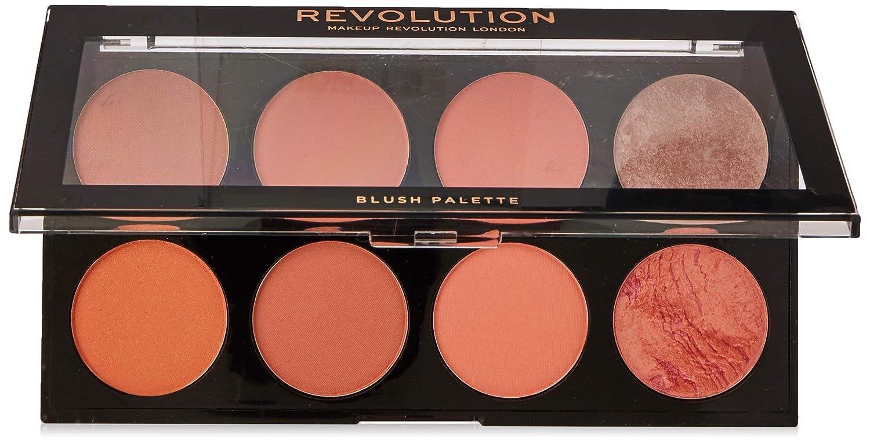 Makeup Revolution Ultra Blush and Contour Palette, Hot Spice