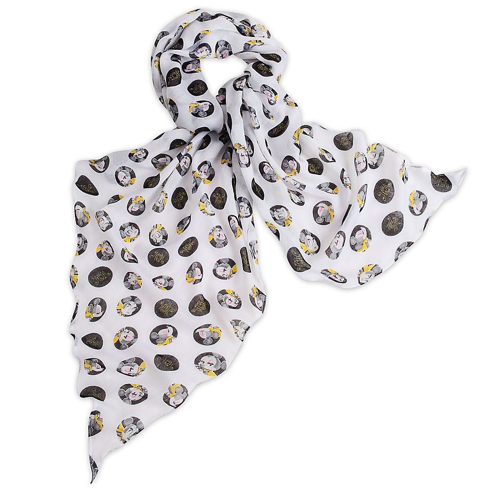 Disney Minnie Mouse Scarf - Signature Collection White by Disney (Image #1)