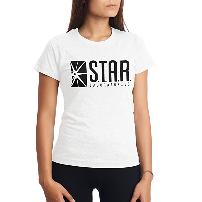 CHILLTEE The Flash S.T.A.R. Labs Laboratories TV Series Serial Camisetas para Hombre lTuqhDw