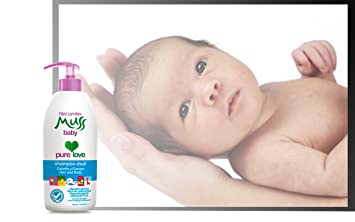 Muss Baby Shampoo Dual hair and body/ hipoalergenico, libre de lagrimas, tear free