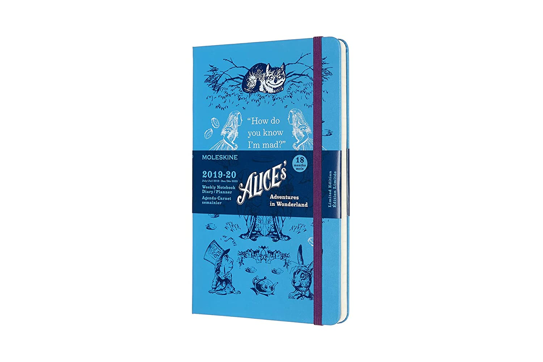 Moleskine 18 Monate Wochen Notizkalender - Alice im ...