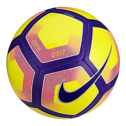 Nike Pitch Balón, Unisex Adulto, Amarillo (Yellow/Purple/Black), 5 ...