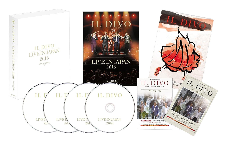 IL DIVO - Live In Japan 2016 (Cd/Dvd/Bd/Ltd) - Amazon.com Music