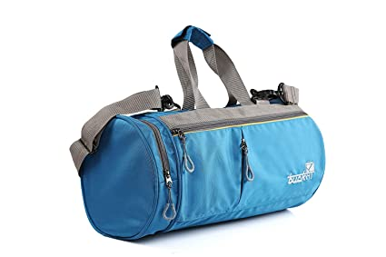 Image Unavailable. Image not available for. Colour  Bucksa Polyester Duffle  Luggage Travel Gym Bag (Navy Blue) a99654447a446