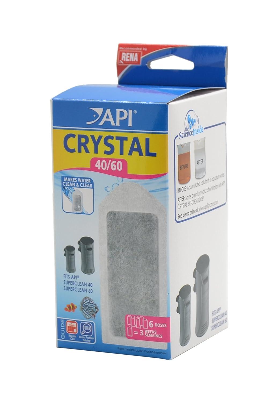 Apl Accessoire pour Aquariophilie Crystal 40/60 Boîte de 2 Doses Agrobiothers REN310785