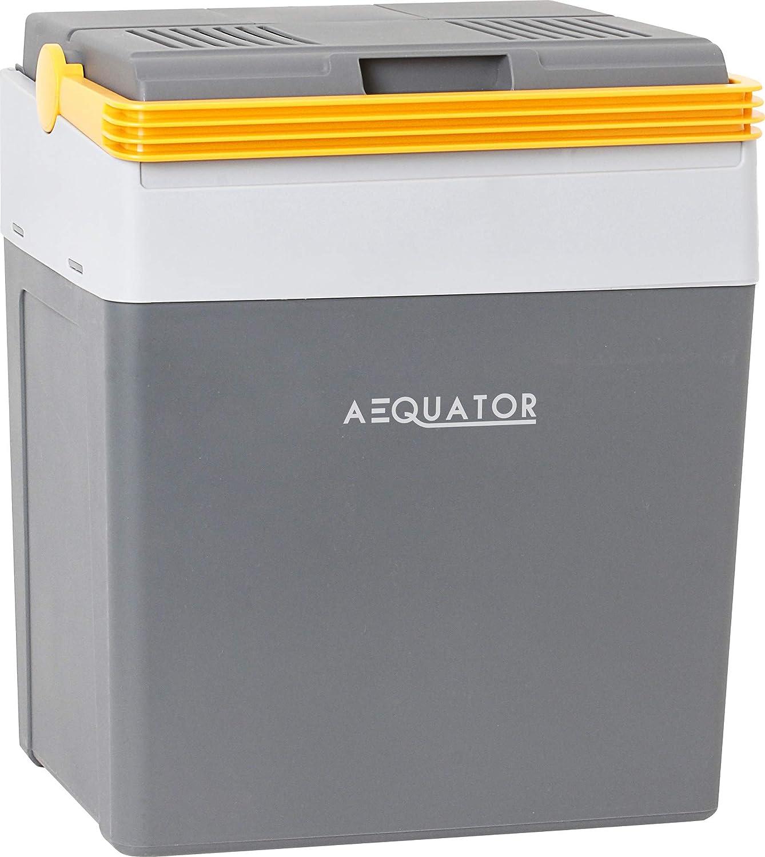 f/ür Auto Boot und Camping Aequator Tragbarer K/ühlschrank Steckdose Thermoelektrische K/ühlbox mit K/ühl- und Warmhaltefunktion 24 Liter 12 V und 230 V f/ür Auto tragbare thermo-elektrische K/ühlbox