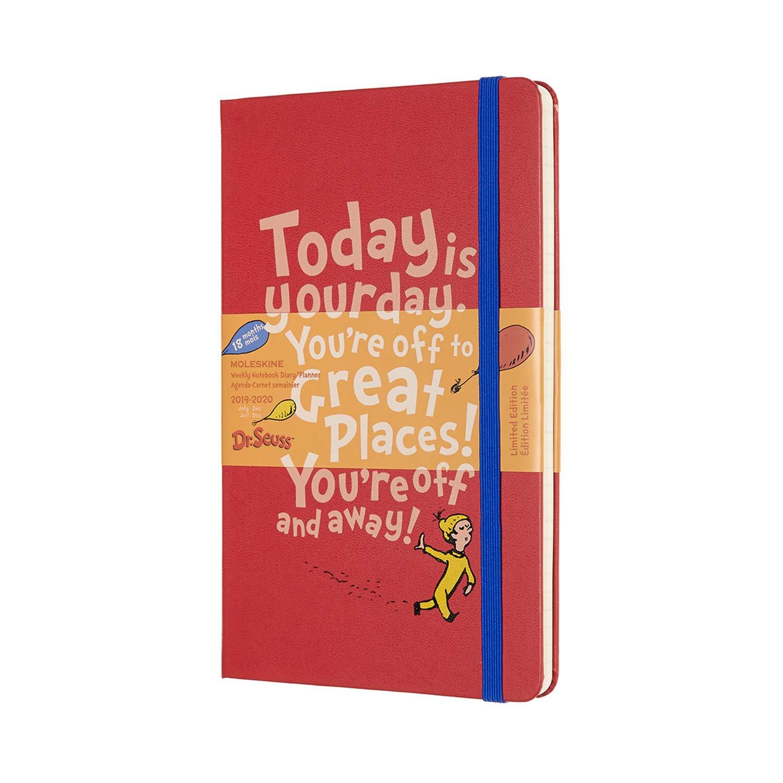 Moleskine - Agenda Semanal de 18 Meses Dr. Seuss Edición ...