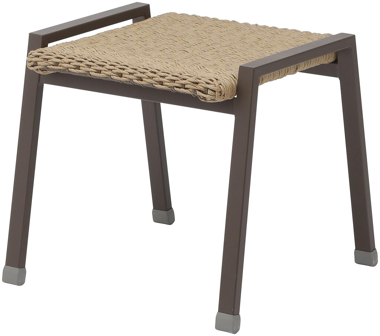 タカショー マーレモザイクサイドテーブル アジアンブラウン 約W50×D50×H50cm B01BV9FNNC サイドテーブル