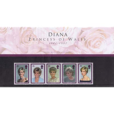 1998 Diana, Princess of Wales Stamps in Presentation Pack. by Royal Mail: Hogar