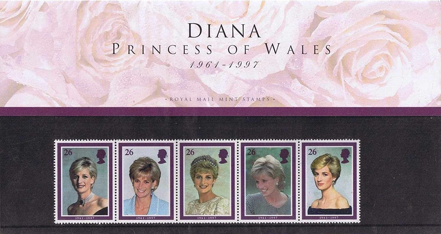 1998 Diana, Princess of Wales Stamps in Presentation Pack. by Royal Mail