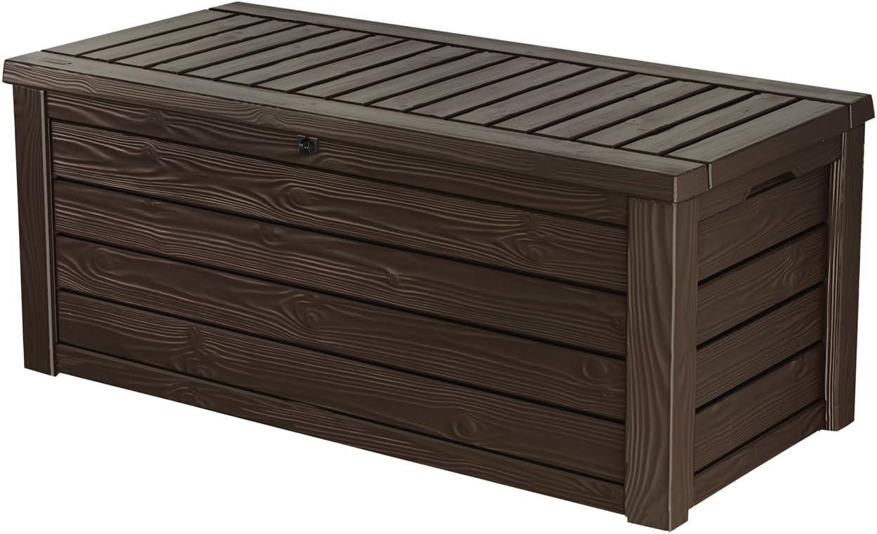 deck boxes amazon com rh amazon com outdoor furniture storage chest