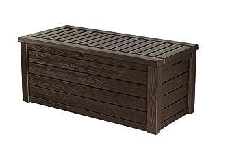 Amazoncom Keter Westwood Plastic Deck Storage Container Box