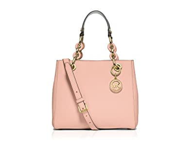 6bf0faa5c7ad Image Unavailable. Image not available for. Color  Michael Kors Cynthia  Small Leather Satchel ...