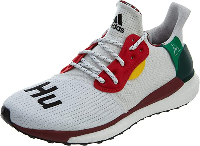 Degenerar Napier plantador  Adidas Boost 'Solar HU Glide White' - BB8044 - Size 13: Amazon.ca: Shoes &  Handbags