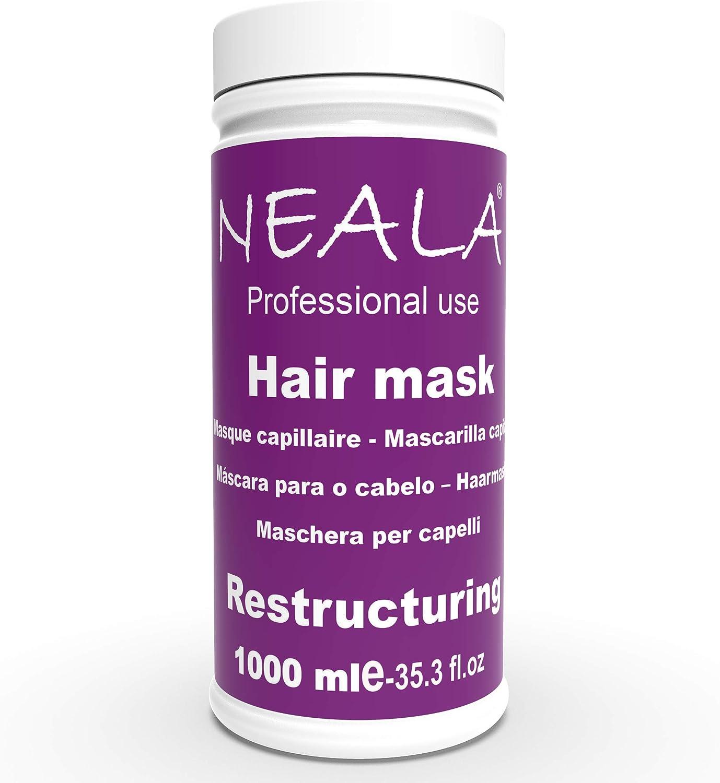 Mascarilla para el pelo reestructurante y nutritiva con extracto de Jojoba. 1000ml.