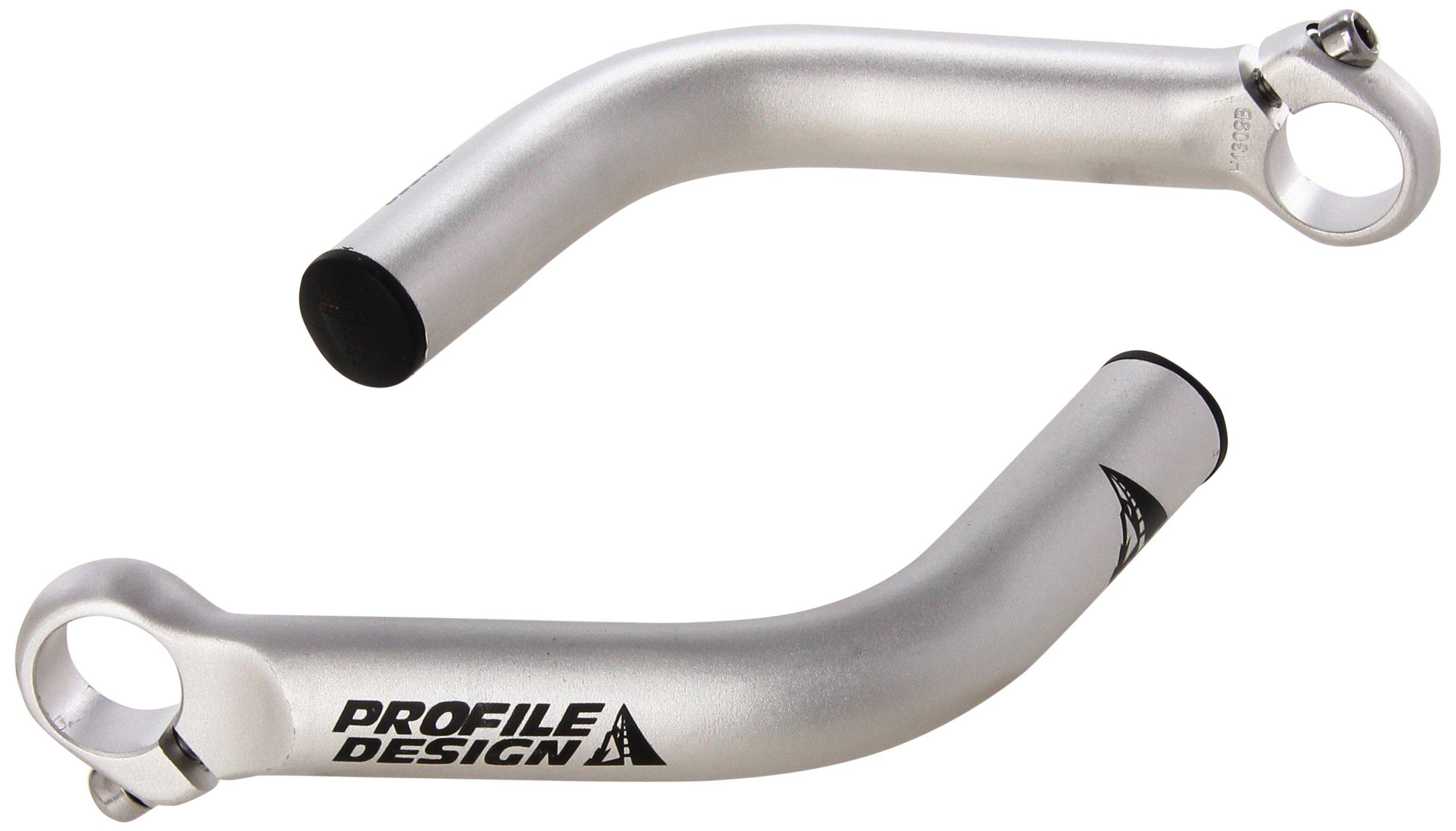 Profile Designs Boxer Bar End (Silver) by Profile Designs